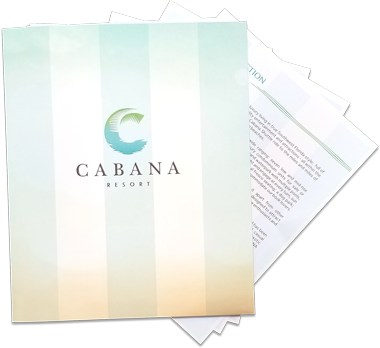 Request A Brochure | CABANA Resort & Spa in Bonita Springs, FL